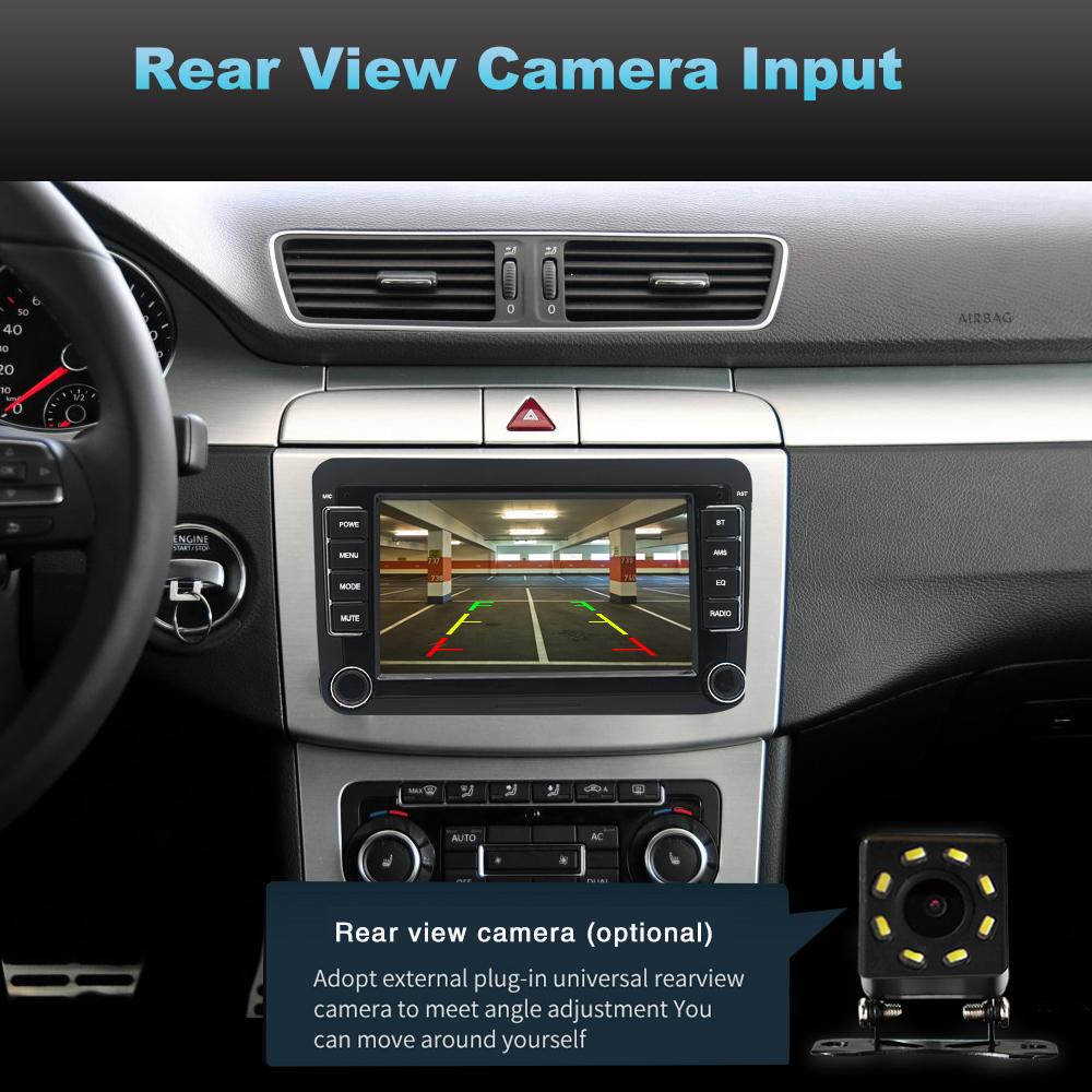 9-034-Autoradio-Android-8-1-Stereo-GPS-Navi-BT-Mirror-For-VW-GOLF-5-6-Passat-Varian miniatura 9