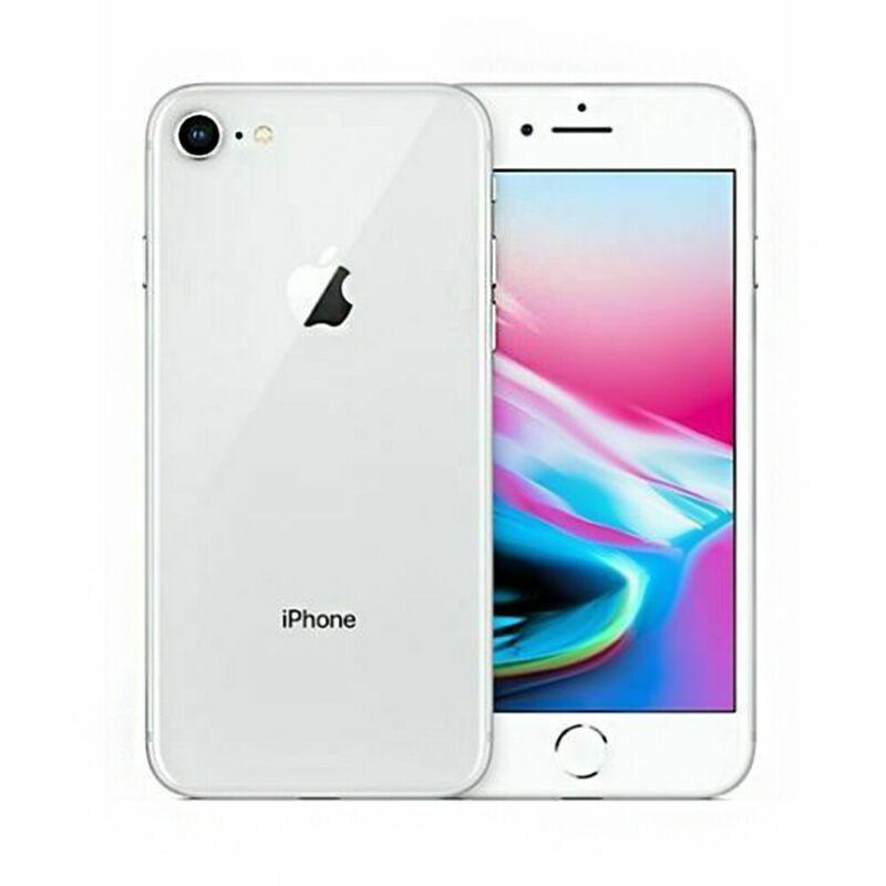Apple-iPhone-8-64Go-Argente-Debloque-Smartphone-Telephones-Garantie-iOS miniature 2
