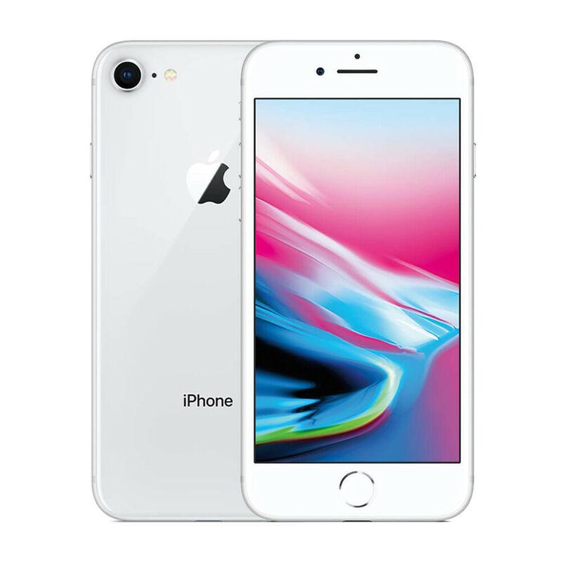 Apple-iPhone-8-64Go-Argente-Debloque-Smartphone-Telephones-Garantie-iOS