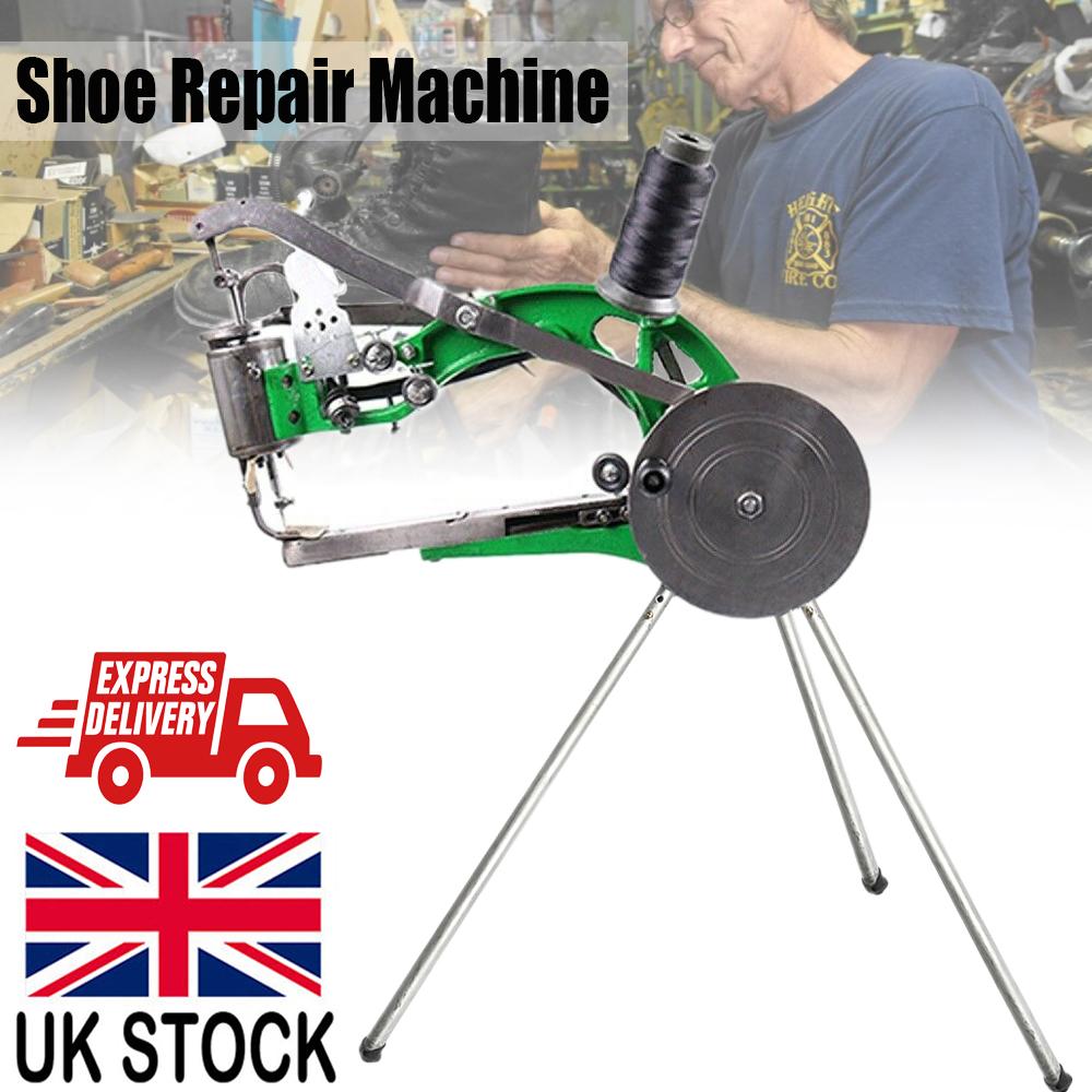 sewing repair shoe machine nylon cobbler sew manual cotton
