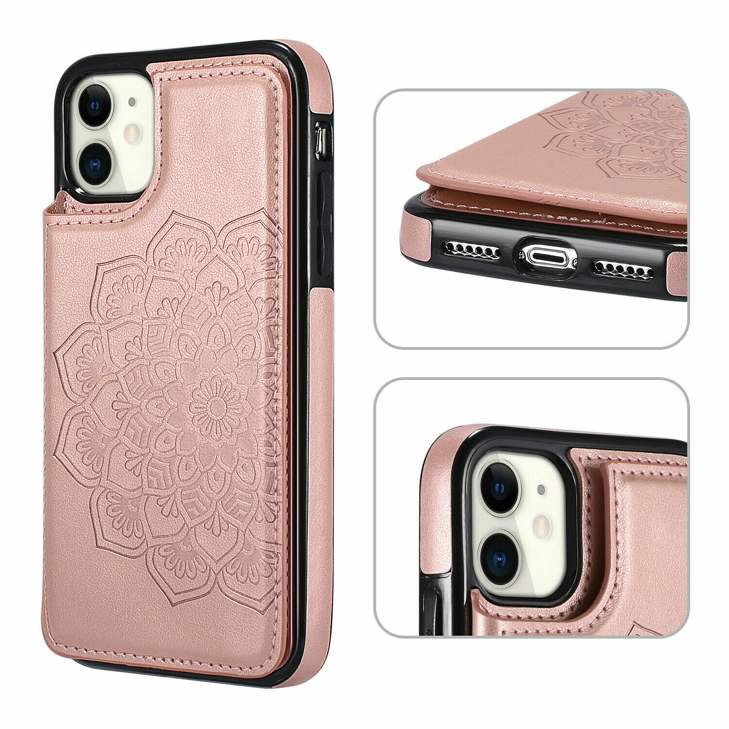 thumbnail 30 - Leather Flip Wallet Card Holder Case Cover For Samsung Galaxy S20 S10 S9 A21s 51