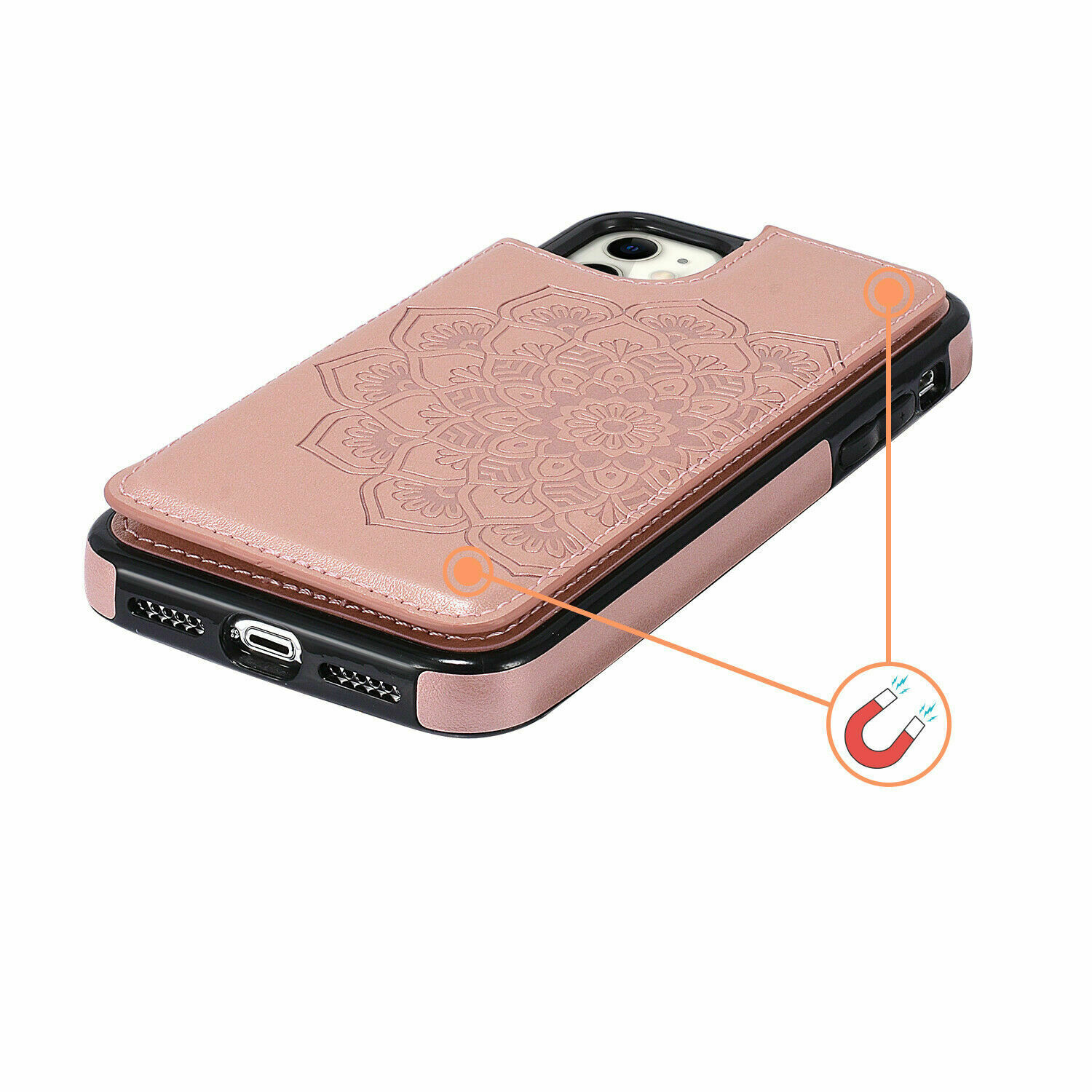 thumbnail 32 - Leather Flip Wallet Card Holder Case Cover For Samsung Galaxy S20 S10 S9 A21s 51