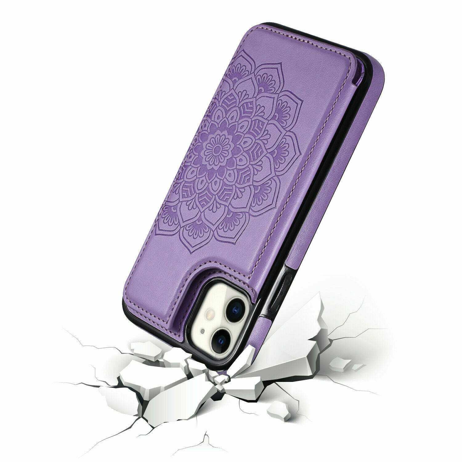 thumbnail 25 - Leather Flip Wallet Card Holder Case Cover For Samsung Galaxy S20 S10 S9 A21s 51